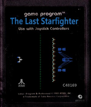 The Last Starfighter Video Game Cartridge