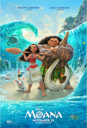 Dad Said, Son Said – Pixar's Moana Review
