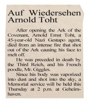 1936 Obituary For Arnold Toht.