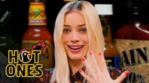 Margot Robbie Eats Hot Wings On Hot Ones